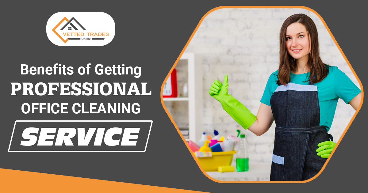 Benefits of getting professional office cleaning service